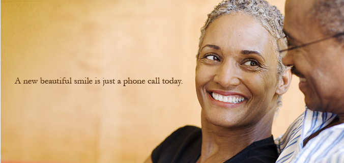 A new beautiful smile is just a phone call today.